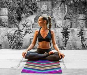 viaje esterilla yoga